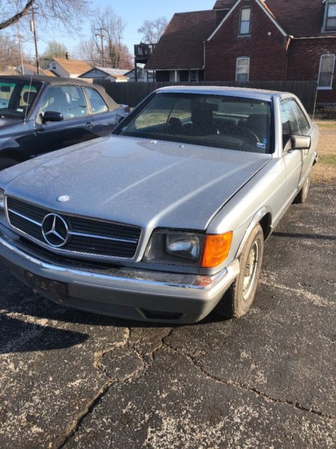 1983 mercedes benz 380sec 380 sec needs restoration or for 1983 mercedes benz 380sec for sale