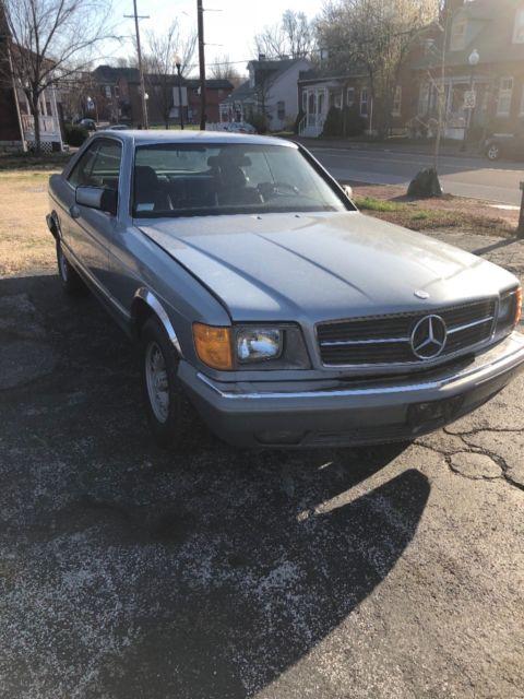 1983 mercedes benz 380sec 380 sec needs restoration or for Mercedes benz classic car parts