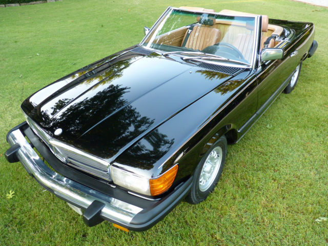 1983 mercedes benz 380sl with just 81k miles classic. Black Bedroom Furniture Sets. Home Design Ideas