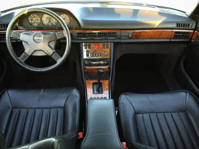 1983 Mercedes Benz 500SEL AMG authentic and rare Euro