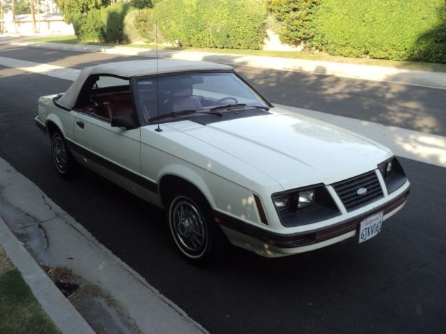 1983 mustang glx fox body true survivor one owner low miles original car classic ford. Black Bedroom Furniture Sets. Home Design Ideas