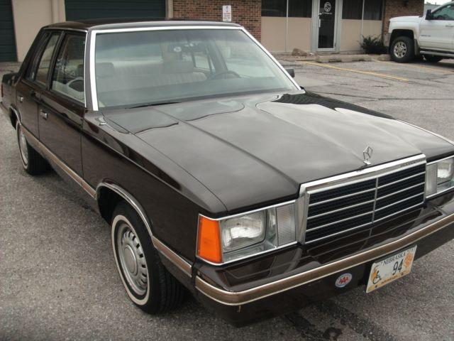 1983 Plymouth Reliant Survivor 14000 Miles 1 Owner