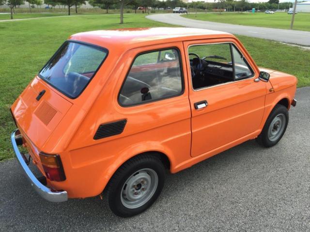 1983 polski fiat 126p poland micro car mini classis antic. Black Bedroom Furniture Sets. Home Design Ideas