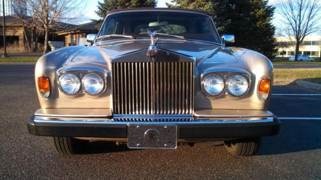 1983 Rolls Royce Corniche Classic Rolls Royce Corniche