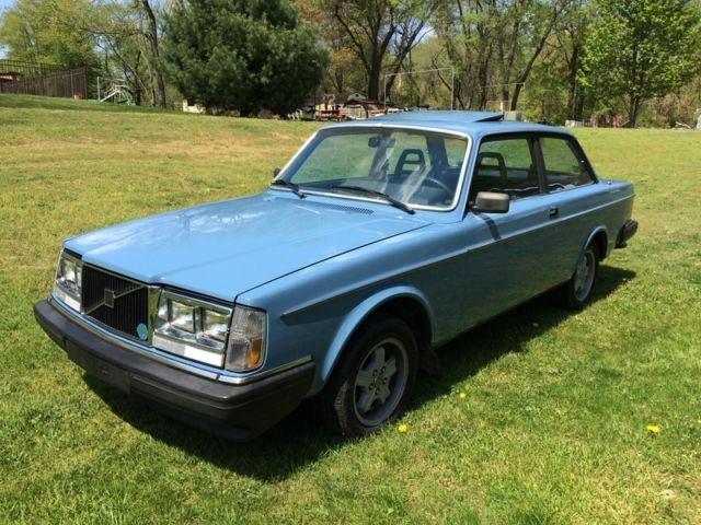 1983 Volvo 240 242 Dl Rare 2 Door Coupe Sunroof Manual