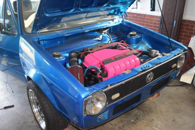 1983 Vw Vr6 Rabbit Pickup Classic Volkswagen Rabbit 1983