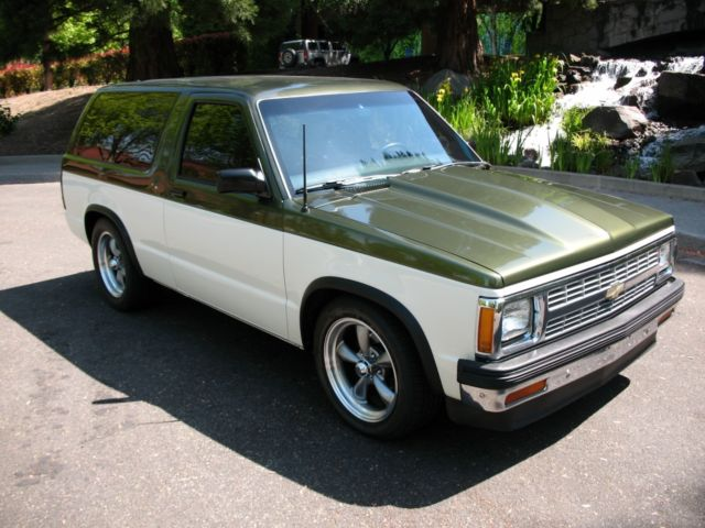 1984 2 door chevy s10 blazer v8 street rod classic chevrolet s 10 1985 for sale. Black Bedroom Furniture Sets. Home Design Ideas