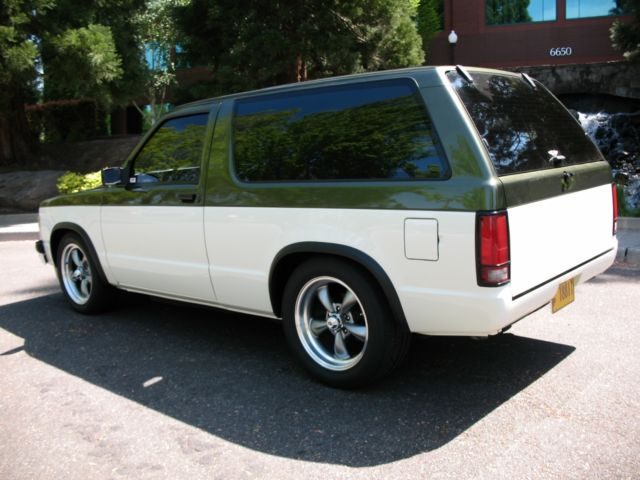 Door Chevy S Blazer V Street Rod on 1984 Chevrolet S10 Blazer