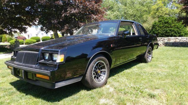 1984 Buick Grand National Ttop Car Classic Buick Grand National