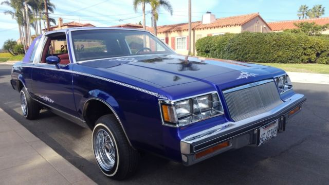 1984 buick regal lowrider - Classic Buick Regal 1984 for sale