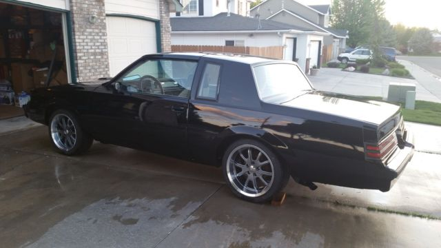 1984 buick regal t type w 87 grand national powertrain rare lear seats classic buick. Black Bedroom Furniture Sets. Home Design Ideas