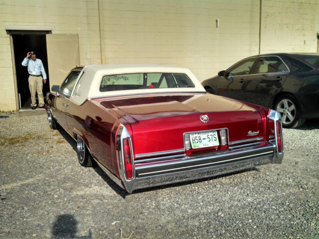 1984 Cadillac Fleetwood Brougham Coupe 2 Door 4 1l Classic