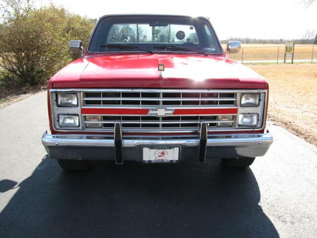 Chevrolet Of Boaz >> 1984 CHEVROLET C10 SILVERADO EXTRA SHARP BRIGHT RED 350 ...