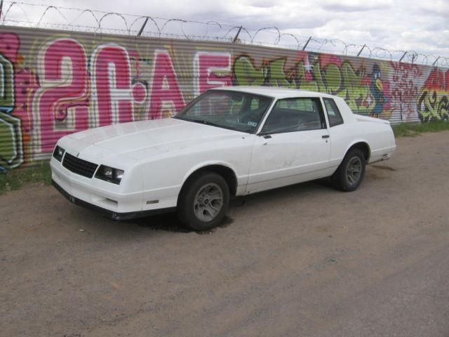 1984 Chevrolet Chevy Monte Carlo SS - Classic Chevrolet