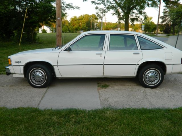 1984 Chevrolet Citation Ii Base Hatchback 4 Door 2 8l