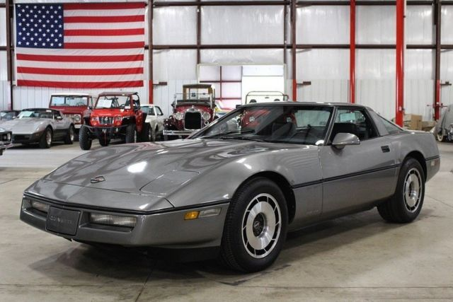 1984 Chevrolet Corvette 84754 Miles Medium Gray Metallic