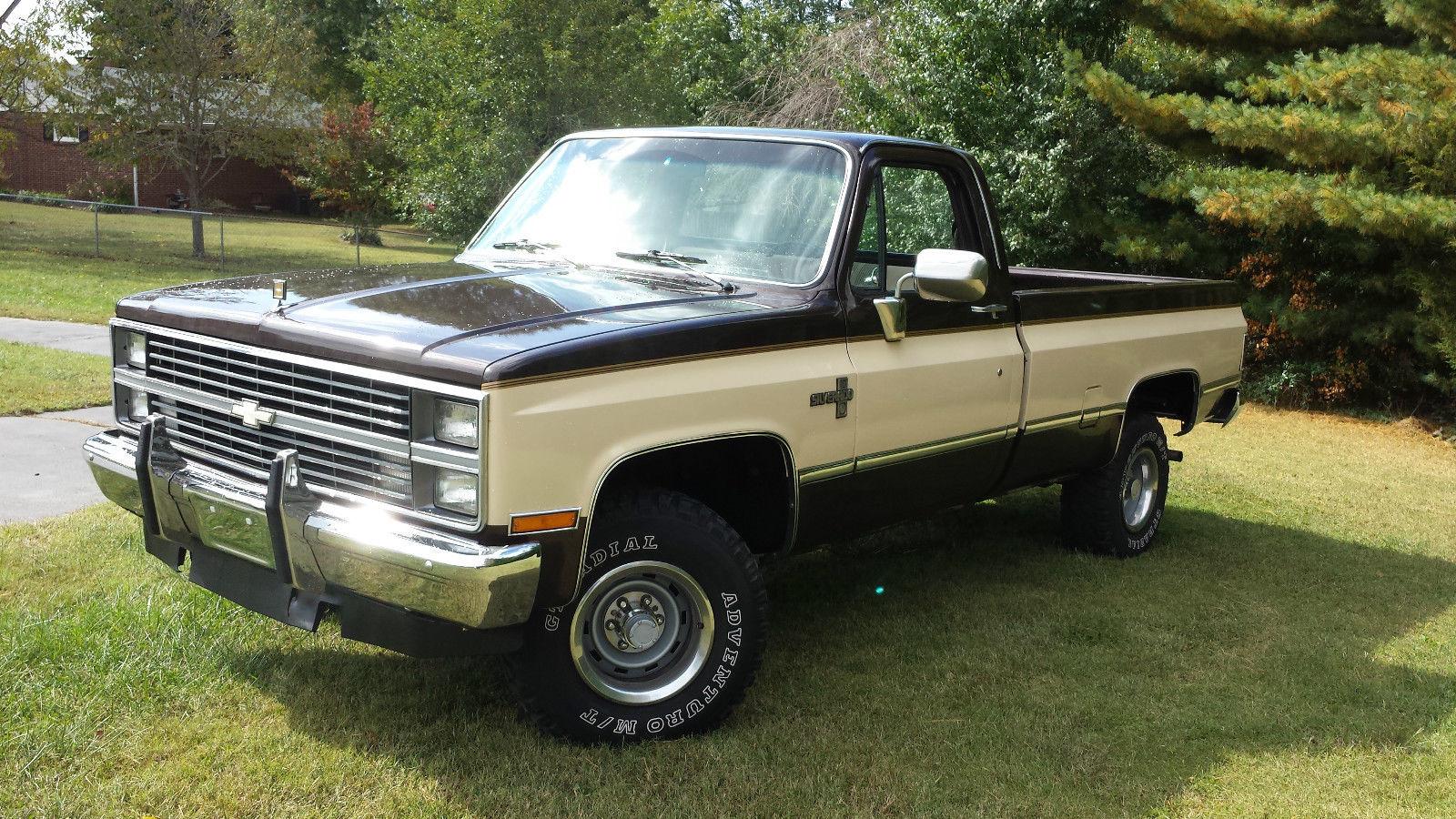 1984 chevrolet k10 custom standard cab pickup 2 door 5 7l for 10 door truck