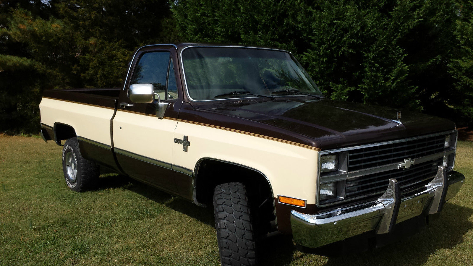 1984 chevrolet k10 custom standard cab pickup 2 door 5 7l classic chevrolet c k pickup 1500. Black Bedroom Furniture Sets. Home Design Ideas
