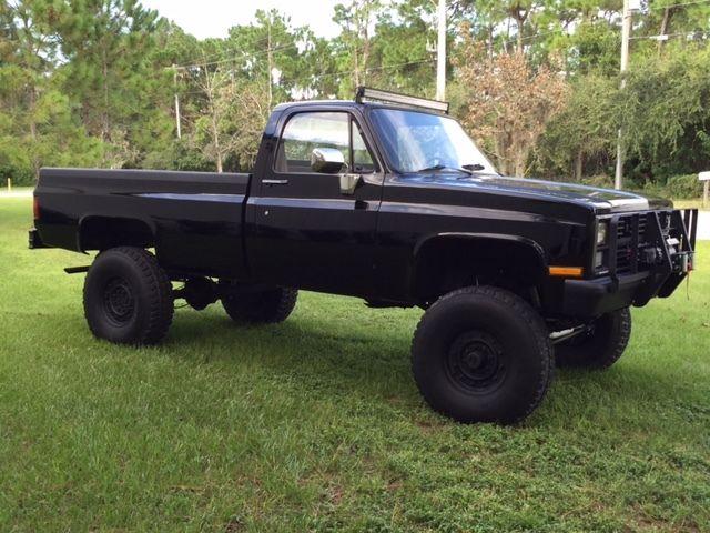 1984 Chevrolet K30 Custom 6.2L Diesel CUCV Military truck ...