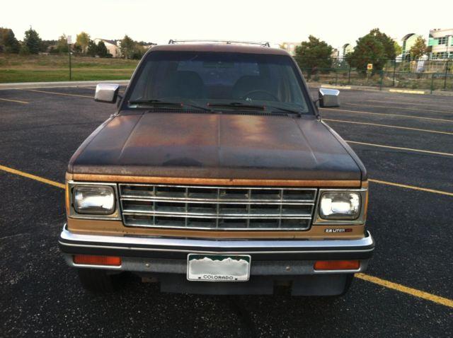 1984 Chevrolet S 10 Blazer 4x4 Chevy S10 2 Door For Parts Or