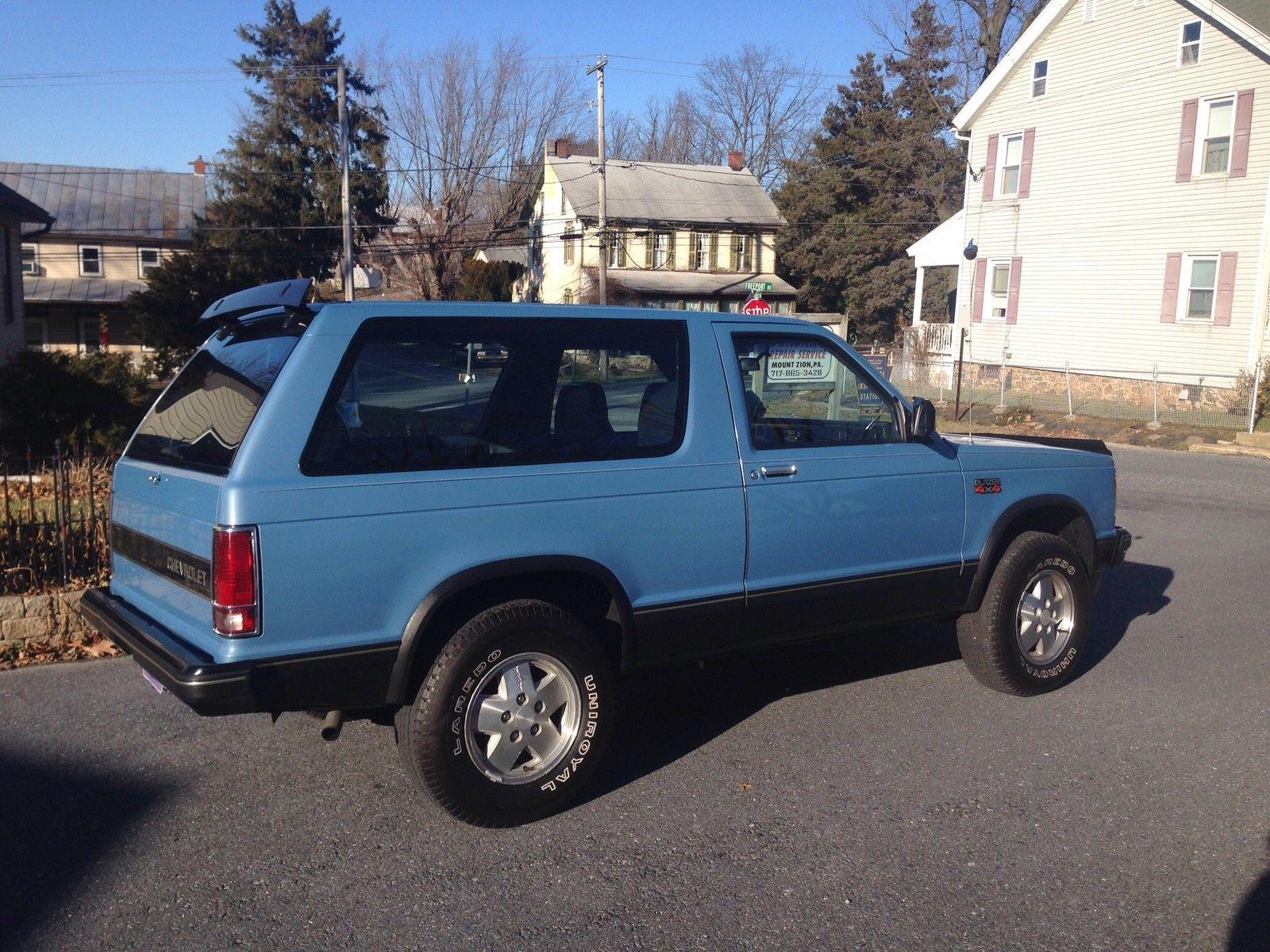 1984 Chevrolet S10 Blazer Sport 2 Door 2 8l Classic