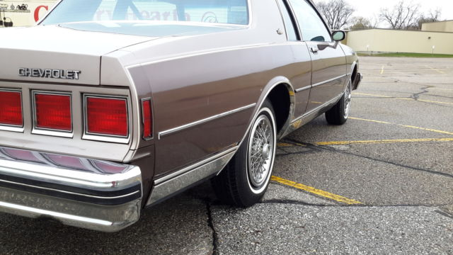 1984 Chevy Caprice Coupe 2-Door V8 53,xxx mile impala 78 79 80 81 85
