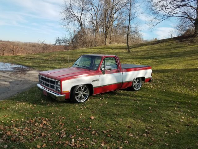1984 Chevy Gmc Serria Classic 58k Mile Patina Lowered