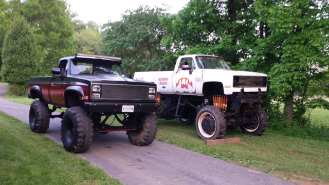 1984 Chevy K20 Lifted 44s Classic Chevrolet Other