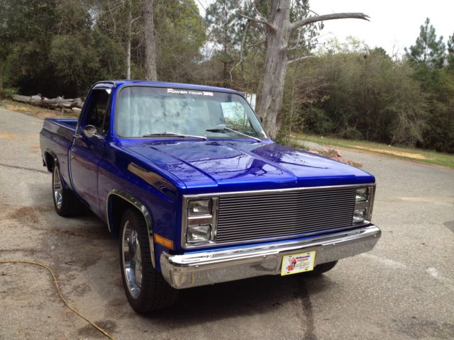 chevy truck candy color wiring diagram1984 chevy pick up custom paint house of colors cobat candy blue