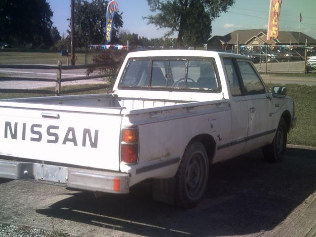 1984 datsun nissan king cab diesel truck classic datsun king cab 1984 for sale. Black Bedroom Furniture Sets. Home Design Ideas
