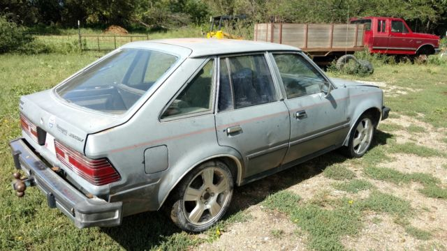 1984 diesel mercury lynx hatchback 5 speed plus 1985 ford