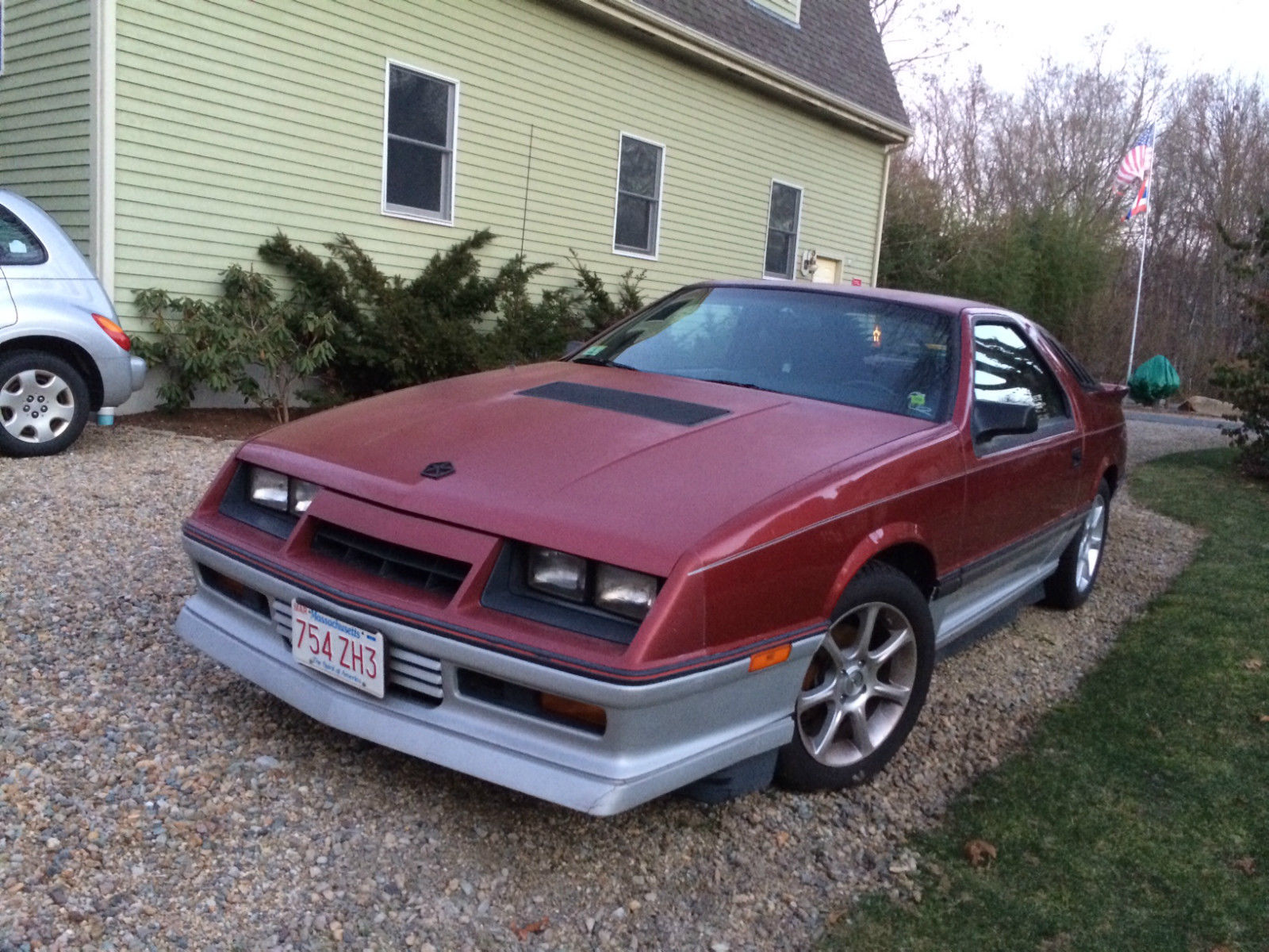 dodge daytona turbo  hatchback  door   miles restored modified classic dodge