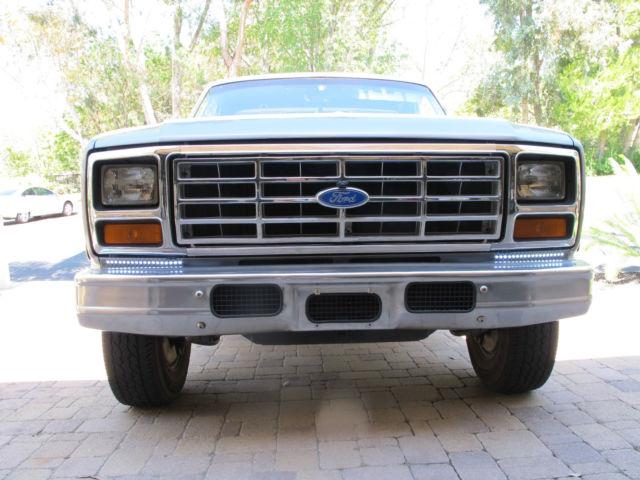 1984 ford f 250 horsepower