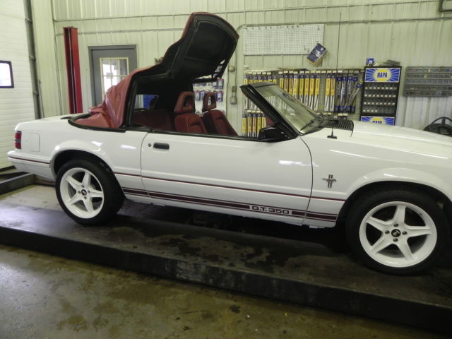 1984 Ford Mustang Gt 350 Convertible Anniversary Edition