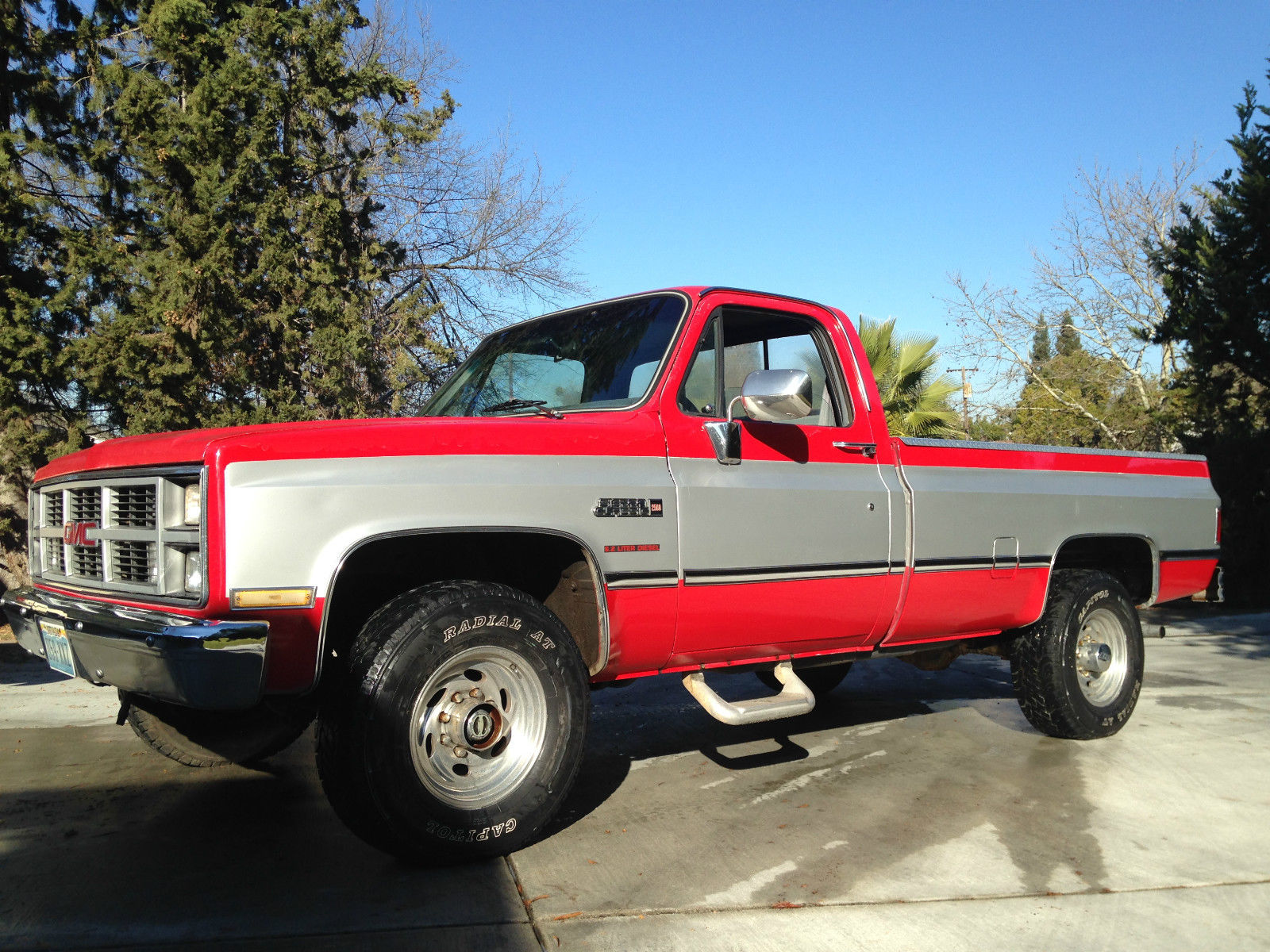 1984 gmc 3 4 ton 4x4 6 2l diesel rust free chevrolet c k. Black Bedroom Furniture Sets. Home Design Ideas