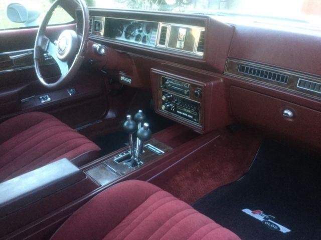 1984 hurst oldsmobile cutlass all original numbers ohio car 71 000 miles no rust classic. Black Bedroom Furniture Sets. Home Design Ideas