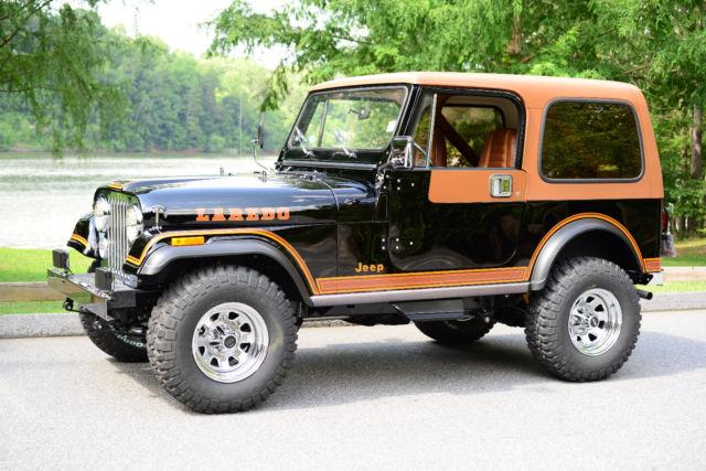 Jeep Cj Parts >> 1984 Jeep Cj7 Laredo Nut Bolt Restore Using Nos Parts Engine