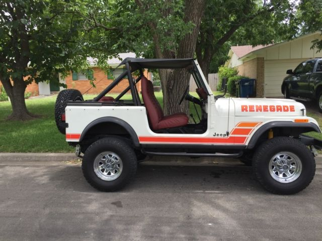 1984 jeep cj7 renegade classic jeep cj 1984 for sale. Black Bedroom Furniture Sets. Home Design Ideas