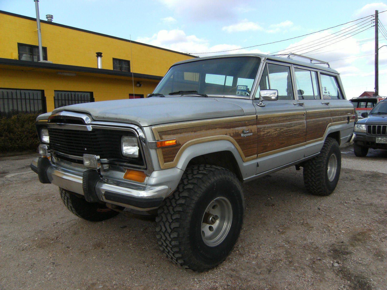 1984 jeep grand wagoneer limited sport utility 4 door 5 9l classic jeep wagoneer 1984 for sale. Black Bedroom Furniture Sets. Home Design Ideas