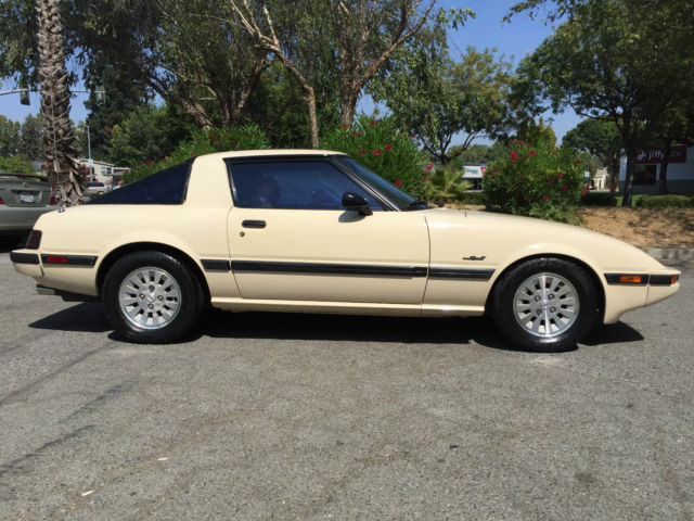 1984 mazda rx7 gsl se 13b 5speed all orig 1 owner from ca excellent condition classic mazda rx. Black Bedroom Furniture Sets. Home Design Ideas