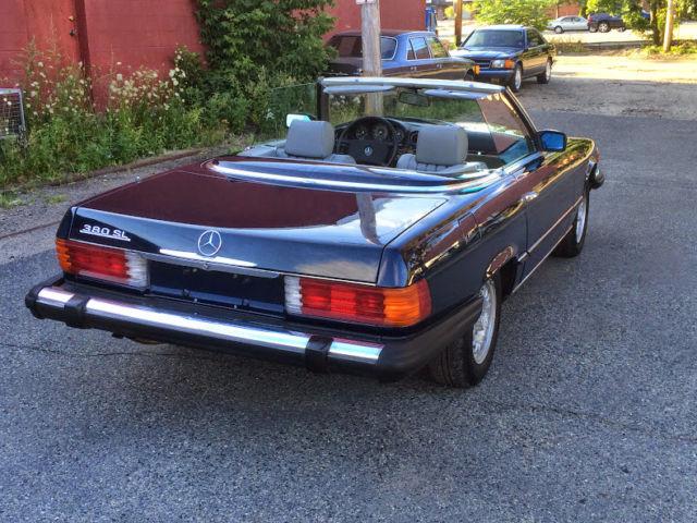 1984 mercedes 380 sl convertible r107 classic mercedes for Mercedes benz 300 convertible