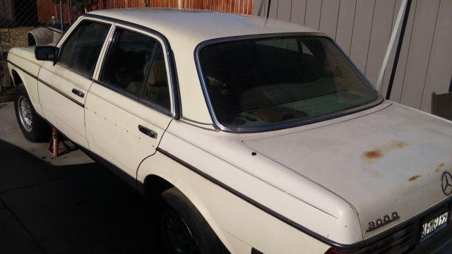 1984 mercedes benz 300 diesel for sale for parts classic for Mercedes benz classic car parts
