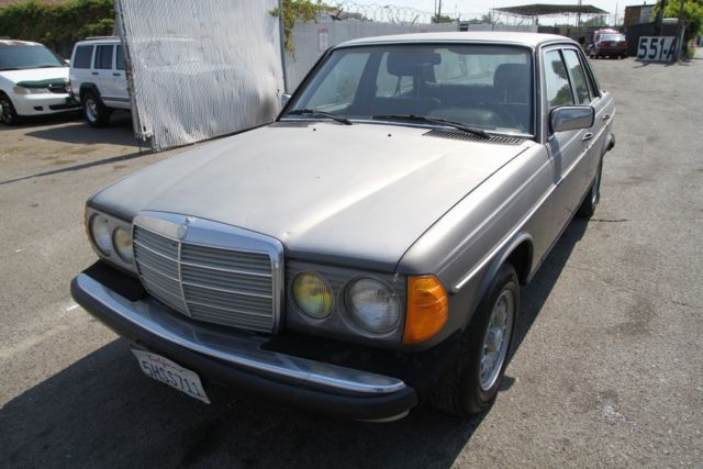 1984 mercedes benz 300d turbo diesel automatic 5 cylinder for Mercedes benz 5 cylinder diesel engine