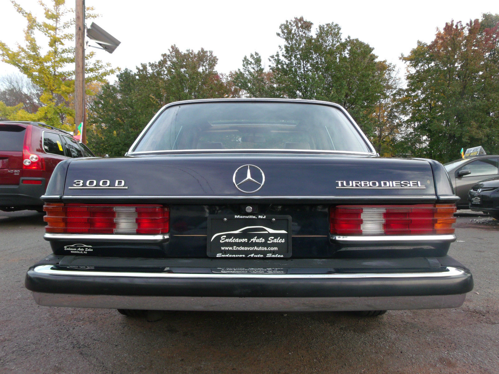 1984 mercedes benz 300d turbo diesel clean interior for Mercedes benz 300 diesel