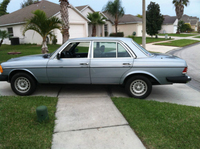 1984 mercedes benz 300d turbo diesel w123 no rust florida for Mercedes benz 300 diesel