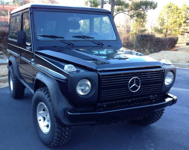1984 mercedes g class g wagen 300gd gelandewagen classic for Mercedes benz gelandewagen for sale