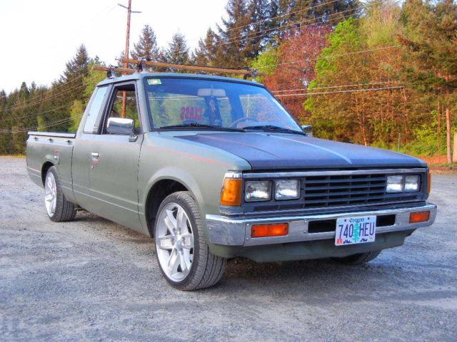 1984 Nissan 720 Bagged MInitruck Minitruckin 84 Pickup ...