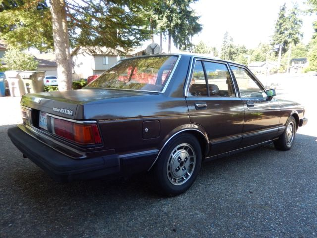 1984 nissan maxima gl sedan 4 door 2 4l classic datsun other 1984 for sale. Black Bedroom Furniture Sets. Home Design Ideas