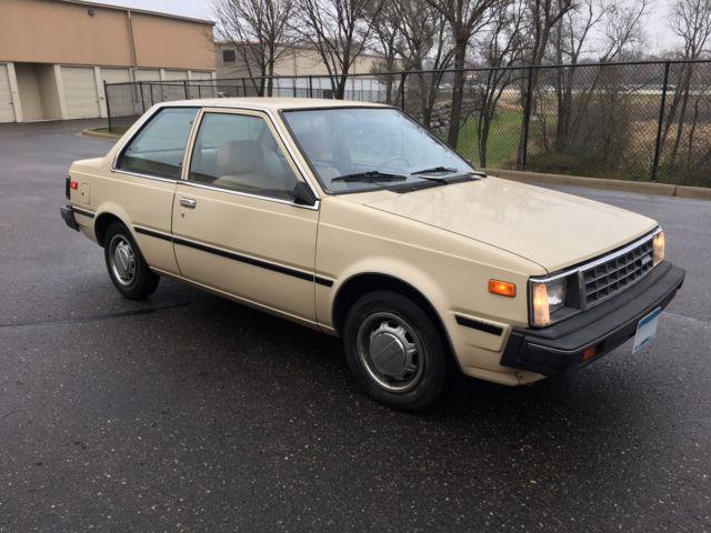 1984 Nissan Sentra 5-Speed 2-Door Sedan - Northwest car ...