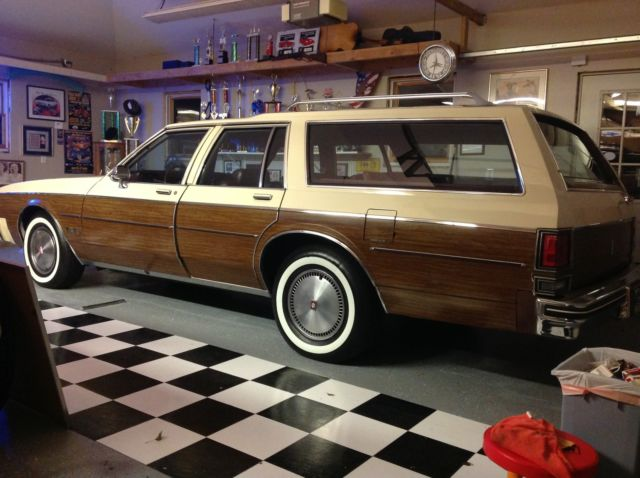 1984 Oldsmobile Custom Cruiser Base Wagon 4 Door 5 0l